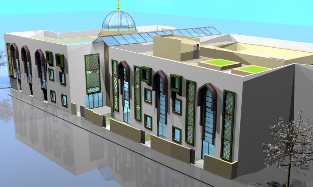 Projet mosquée de Noisy le sec